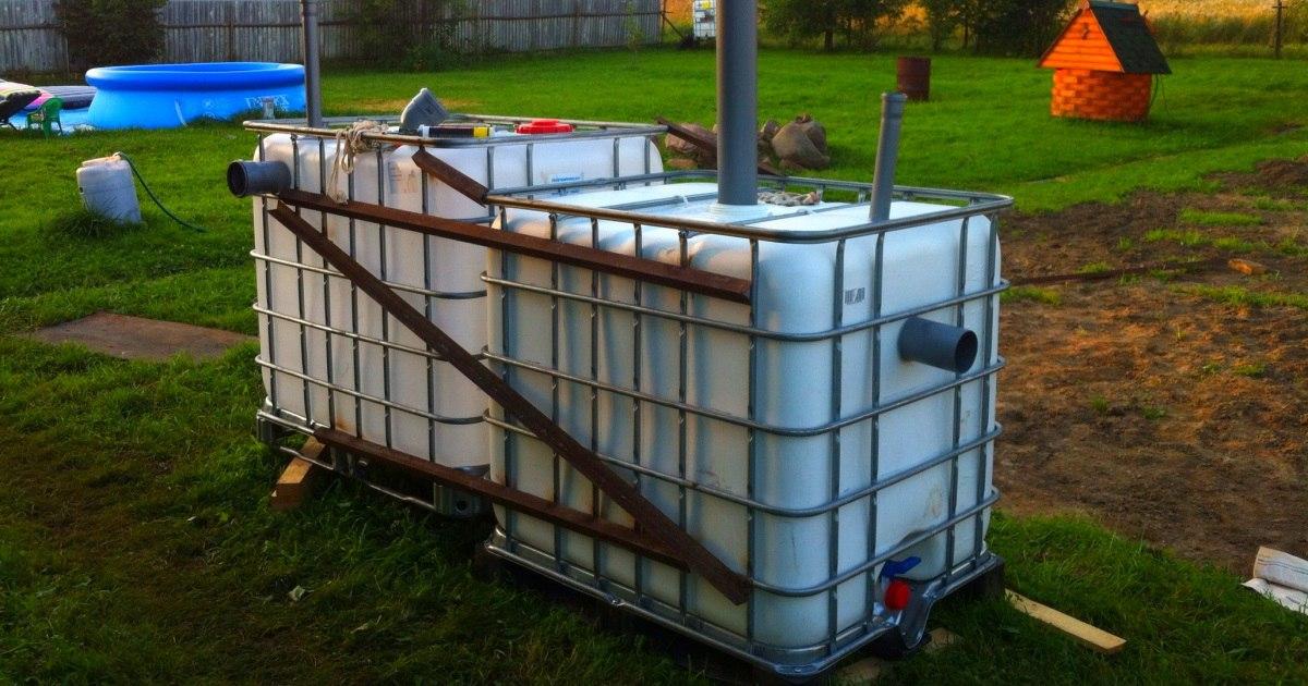Мини АЗС с дизельным топливом на даче