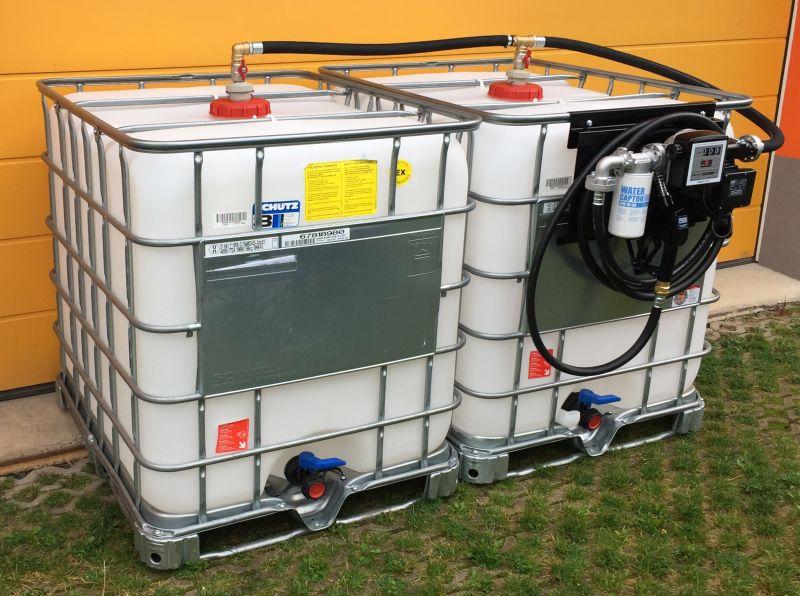 Мини АЗС для распределения дизтоплива на даче