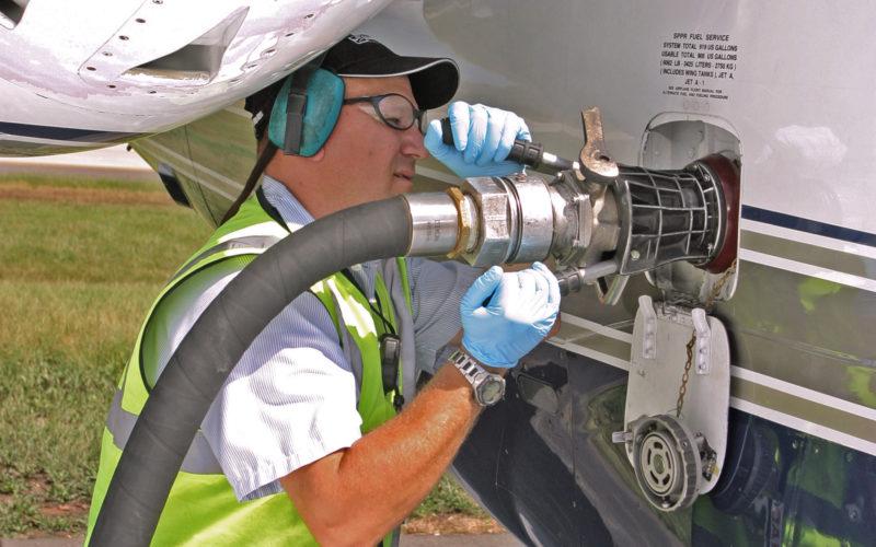 Заправка авиационное топливо